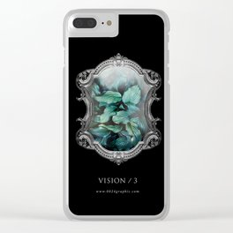 VISION No.3 Clear iPhone Case