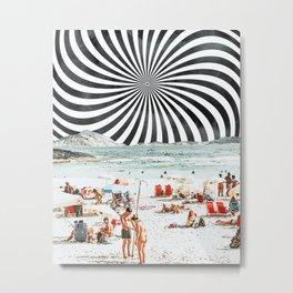 Summer On The Beach #digitalart #travel Metal Print
