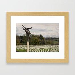 Ardennes American Cemetery Framed Art Print
