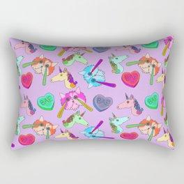 Archie & Co. Olivia Print (Purple) Rectangular Pillow