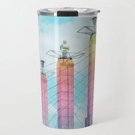 Bartle Hall in Rainbow Travel Mug