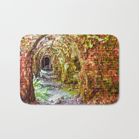 Ruins Bath Mat