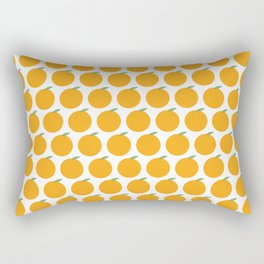 Syracuse, New York Orange Rectangular Pillow