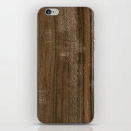 Australian Walnut Wood iPhone Skin