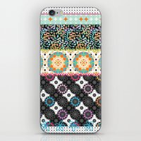 boho iPhone & iPod Skins featuring Boho by Designed by Debby