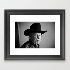 Vaquero Framed Art Print
