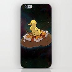 Space Duck iPhone & iPod Skin