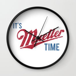 IT'S MUELLER TIME Investigate Impeach Anti-Trump Wall Clock