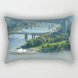 Point State Park in Pittsburgh 16 Rectangular Pillow