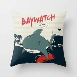 Baywatch  Throw Pillow