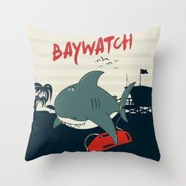 Baywatch  Throw Pillow