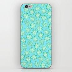 Wallflower - Tea Teal iPhone & iPod Skin