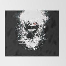Kaneki Tokyo Ghoul Throw Blanket