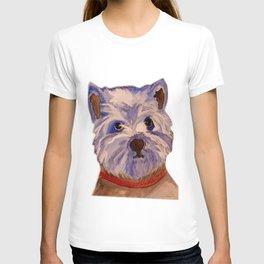 West highland terrier Westie dog love T-shirt