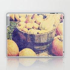 Fall Pumpkins Laptop & iPad Skin