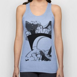 bridge building Unisex Tank Top