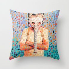 Stop Nuclear Throw Pillow