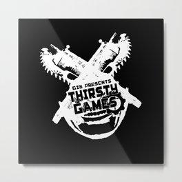 Thirsty Games - Away Metal Print