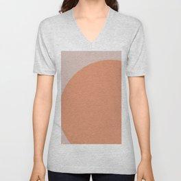 color geometry Unisex V-Neck