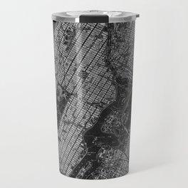 Central Park New York 1947 vintage old map for office decoration Travel Mug