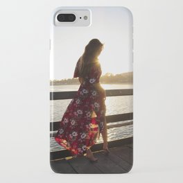 Red Flower Dress iPhone Case