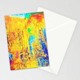 Imaginäre Landschaft - Ölgemälde auf Leinwand Stationery Cards