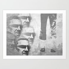 Man Power Art Print