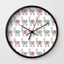 Llama Alpaca Wall Clock