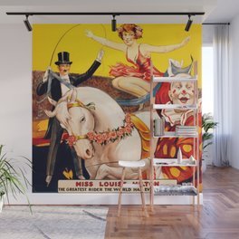 Gentry Brothers Circus - Miss Louise Hilton Greatest Rider in the World Circus Poster Wall Mural
