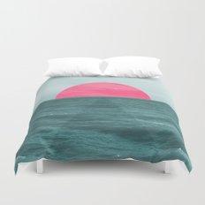 Magenta Sunset Duvet Cover