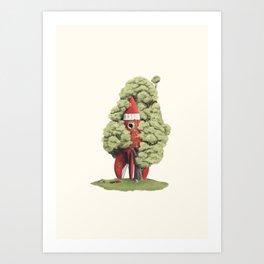 3… 2… 1… Art Print