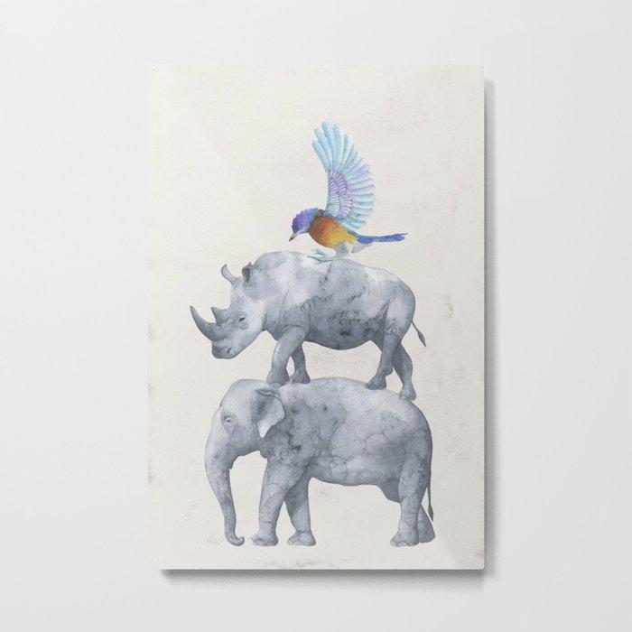 African Wildlife Metal Print