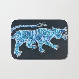 Tiger Blue Bath Mat
