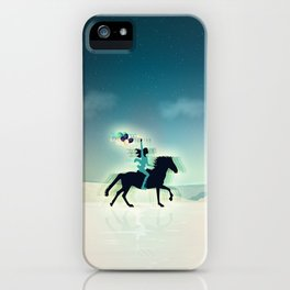Joy Of Being Free iPhone Case