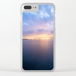 Watching the City lights II Clear iPhone Case