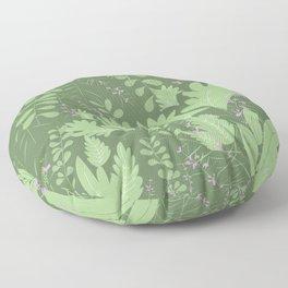 Herbal Jungle Floor Pillow