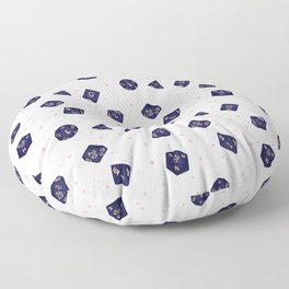 Sweet Dreams Polyhedral Dice Floor Pillow