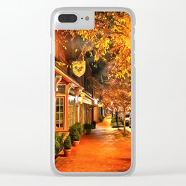 Gordonsville, Virginia a Night Clear iPhone Case