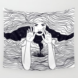 soul waves Wall Tapestry