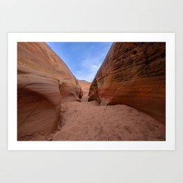 Colorful Canyon - 3, Valley of Fire State Park, Nevada Art Print