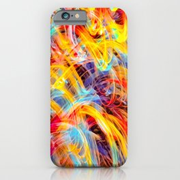 Confused Thoughts iPhone Case