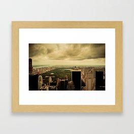 North York City Framed Art Print