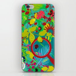 finding cures in the rain forest iPhone Skin