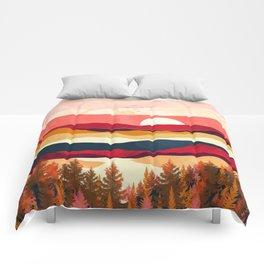 Scarlet Spring Comforters