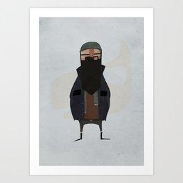 fisherman. Art Print