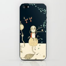 """You will not do incredible things without an incredible dream."" – John Eliot iPhone & iPod Skin"
