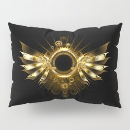 Mechanical Wings ( Steampunk Wings ) Pillow Sham