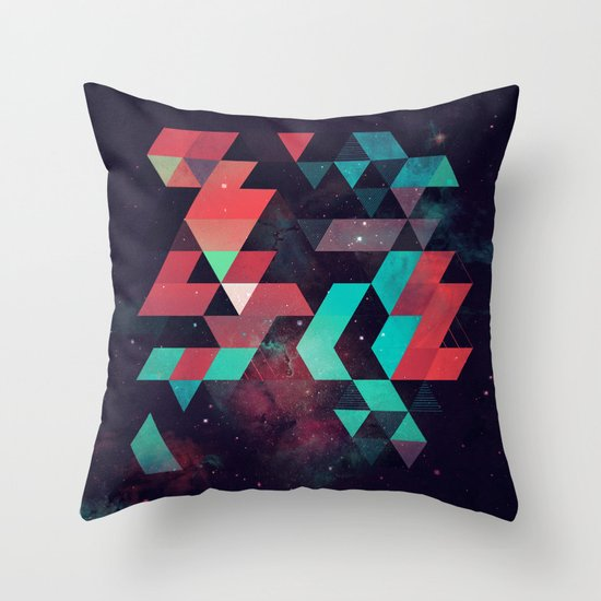 hyzzy fyt tyrq Throw Pillow