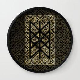 Web of Wyrd  -The Matrix of Fate Wall Clock