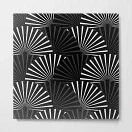 Minimalistic Pattern Metal Print